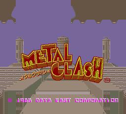 Metal Clash (ARC)  © Data East 1985   1/3