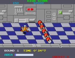 Metro-Cross (ARC)  © Namco 1985   3/4