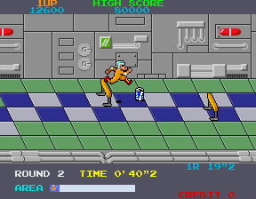 Metro-Cross (ARC)  © Namco 1985   4/4