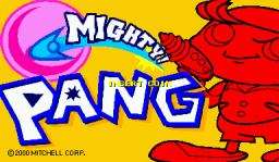 Mighty! Pang (ARC)   © Capcom 2000    1/17