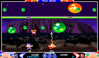 Mighty! Pang (ARC)   © Capcom 2000    10/17
