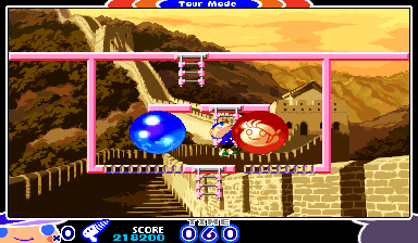 Mighty! Pang (ARC)   © Capcom 2000    15/17