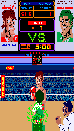 Punch-Out!! (ARC)  © Nintendo 1984   1/4