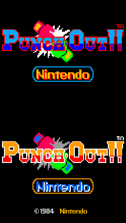 Punch-Out!! (ARC)  © Nintendo 1984   2/4