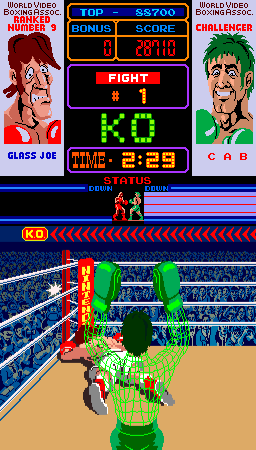 Punch-Out!! (ARC)  © Nintendo 1984   3/4