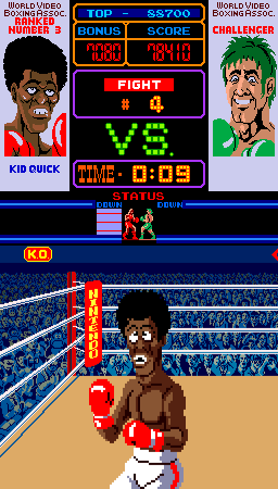 Punch-Out!! (ARC)  © Nintendo 1984   4/4