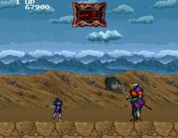 Mirai Ninja (ARC)  © Namco 1988   3/7