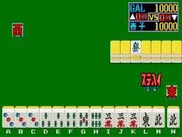 Miss Mahjong Contest (ARC)  © Nichibutsu 1989   2/3