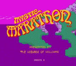 Mystic Marathon (ARC)  © Williams 1984   1/3