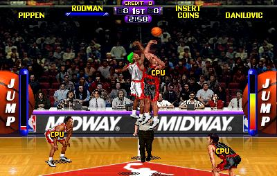 NBA Maximum Hangtime (ARC)  © Midway 1996   5/5