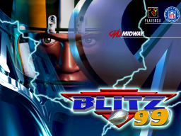 NFL Blitz '99 (ARC)  © Midway 1998   1/3