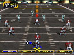 NFL Blitz 2000: Gold Edition (ARC)  © Midway 1999   2/3