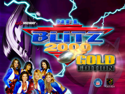 NFL Blitz 2000: Gold Edition (ARC)  © Midway 1999   1/3