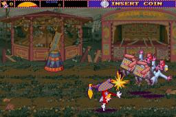 Ninja Clowns (ARC)  © Strata 1991   3/4