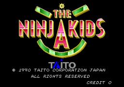 The Ninja Kids (ARC)  © Taito 1990   1/8