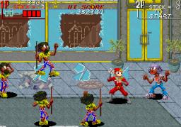 The Ninja Kids (ARC)  © Taito 1990   3/8