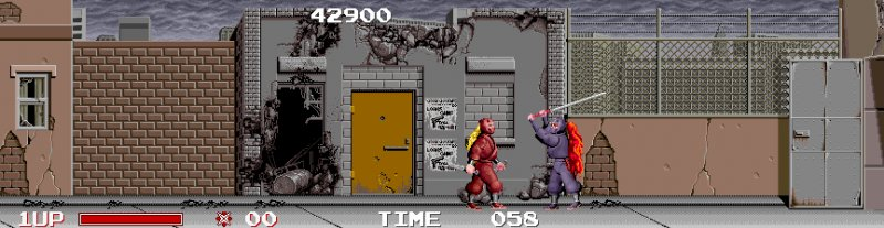 Ninja Warriors (ARC)   © Taito 1988    5/5