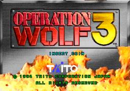 Operation Wolf 3 (ARC)  © Taito 1994   1/3