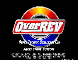 Over Rev (ARC)  © Jaleco 1997   1/3