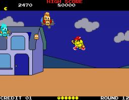 Pac-Land (ARC)  © Namco 1984   2/4