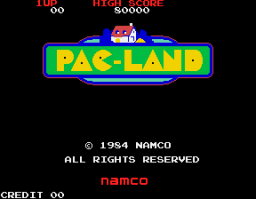 Pac-Land (ARC)  © Namco 1984   1/4