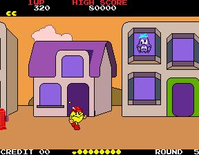 Pac-Land (ARC)  © Namco 1984   4/4