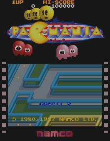 Pac-Mania (ARC)  © Namco 1987   1/4