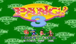 Pang! 3 (ARC)  © Mitchell 1995   1/6