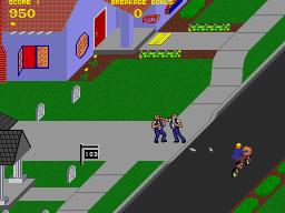 Paperboy (ARC)  © Atari Games 1984   2/5
