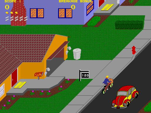 Paperboy  © Atari Games 1984  (ARC)   4/5