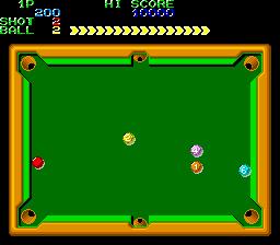 Perfect Billiard (ARC)  © Nihon System 1987   2/3