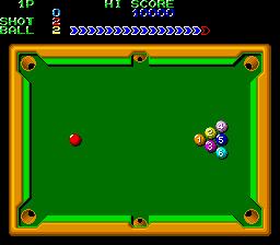 Perfect Billiard (ARC)  © Nihon System 1987   3/3