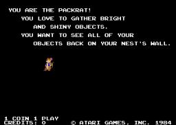 Peter Packrat (ARC)  © Atari Games 1985   1/3