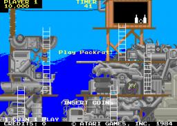 Peter Packrat (ARC)  © Atari Games 1985   2/3