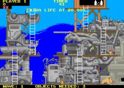 Peter Packrat (ARC)  © Atari Games 1985   3/3