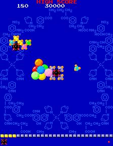 Phozon (ARC)  © Namco 1983   3/4