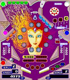 Pinball Action (ARC)  © Tecmo 1985   2/4
