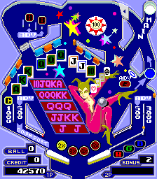 Pinball Action (ARC)  © Tecmo 1985   4/4