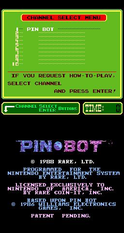 Pinbot (ARC)  © Nintendo 1989   1/3