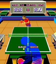 Ping Pong King (ARC)  © Taito 1985   2/2