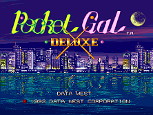 Pocket Gal Deluxe (ARC)   © Data East 1992    1/3