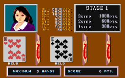 Poker Ladies (ARC)  © Mitchell 1989   2/3