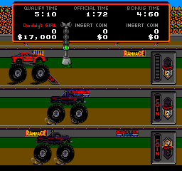 Power Drive (1987) (ARC)  © Bally Midway 1987   2/3