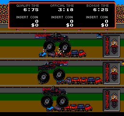 Power Drive (1987) (ARC)  © Bally Midway 1987   3/3