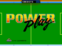 Power Play (ARC)   © Cinematronics 1985    1/3