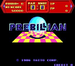 Prebillian (ARC)  © Taito 1986   1/5
