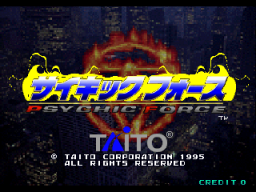 Psychic Force (ARC)   © Taito 1995    1/4