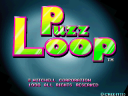 Puzz Loop (ARC)  © Mitchell 1998   1/4