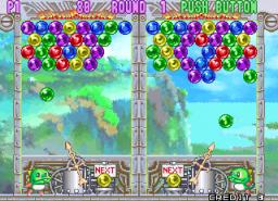Puzzle Bobble 3 (ARC)  © Taito 1996   3/13