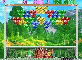 Puzzle Bobble 3 (ARC)  © Taito 1996   5/13